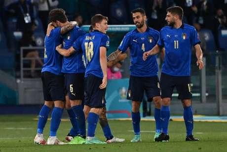Italianos venceram os suíços (Foto: ANDREAS SOLARO / POOL / AFP)