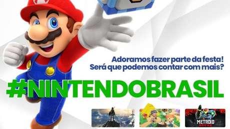 Fãs querem mais jogos da Nintendo em português