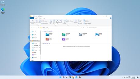 Explorador de arquivos no Windows 11