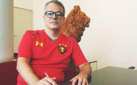 Dirigente acompanhou a renúncia de Milton Bivar (Divulgação/Sport)