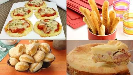 Receitas diferentes de pão de queijo
