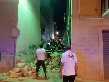 Desabamento de prédio deixa feridos no sul da Itália