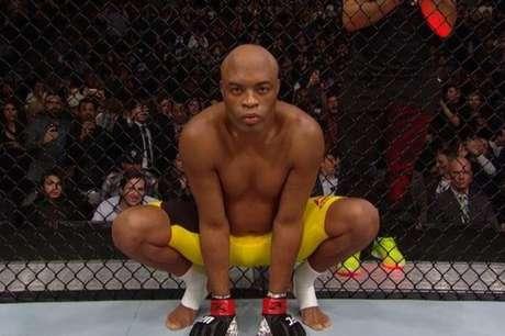 Anderson Silva estreia neste sábado nos ringues de boxe (Foto reprodução UFC)