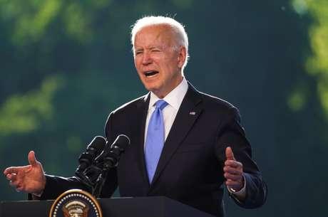 Joe Biden REUTERS/Kevin Lamarque