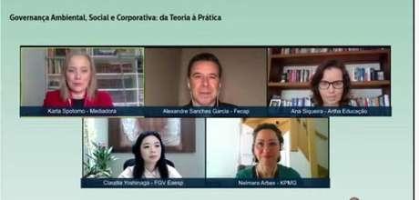 Painel online do Summit ESG debateu soluções para superar a desigualdade.