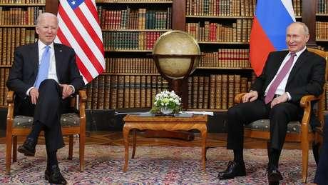 Biden e Putin se se reuniram em Genebra, na Suíça