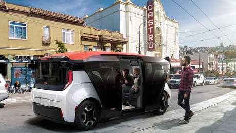 Divisão de carros autônomos da GM, Cruise espera vender modelo Origin em 2023.