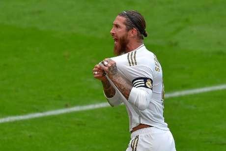Sergio Ramos se despediu oficialmente do Real Madrid (Ander GILLENEA / AFP)