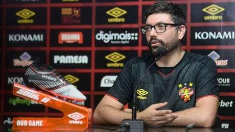 Rafael Soares nos tempos que trabalhava no Sport (Foto: Aderson Stevens/Sport)