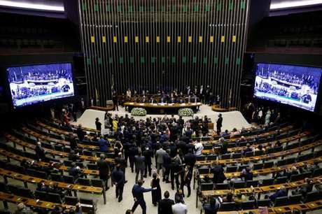 Vista da Câmara dos Deputados, em Brasília (DF)  03/02/2021 REUTERS/Adriano Machado