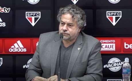 Presidente do São Paulo, Julio Casares (Foto: Reprodução/ YouTube São Paulo FC)