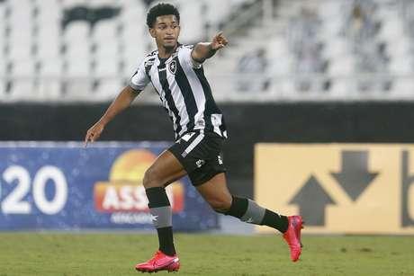 Warley chegou no Botafogo em fevereiro de 2020 (Foto: Vítor Silva/Botafogo)