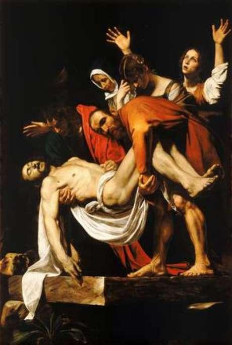 'O Sepultamento de Cristo', de Caravaggio, vai ilustrar um dos lados da moeda especial