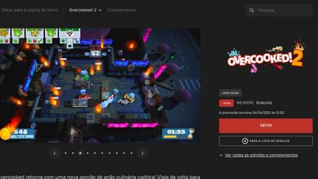 Baixe Overcooked 2 de graça no PC