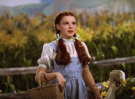 Dorothy (Judy Garland), em O Mágico de Oz (