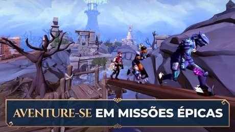 RuneScape já pode ser jogado com crossplay (Imagen: Divulgação/Jagex)