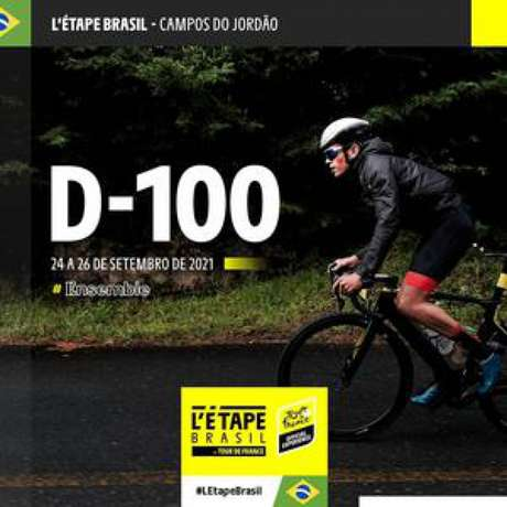 100 dias para L'Étape Brasil by Tour de France (Foto: @letapebrasil)