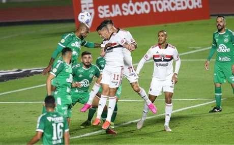 São Paulo ficou no empate contra a Chapecoense (Foto: Paulo Pinto/ saopaulofc.net)