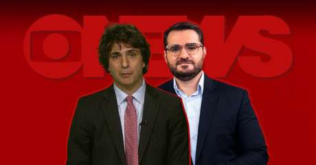 Guga Chacra e Marcelo Cosme foram 'traídos' pela demora na transmissão do áudio entre Rio e Nova York