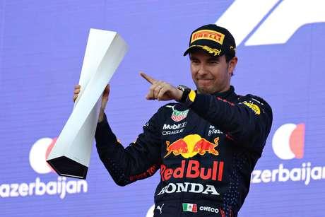 Sergio Pérez e Red Bull: as expectativas são grandes.
