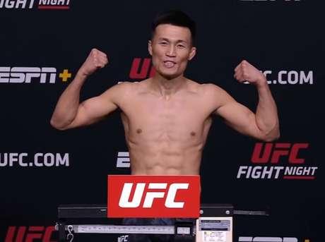 Zumbi Coreano será uma das atrações do UFC Vegas 29 (Foto: Reprodução YouTube)