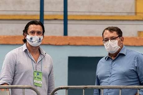 Outrora aliados, Sérgio Santos Rodrigues  e Pedro Lourenço não estão se entendendo mais-(Gustavo Aleixo/Crueiro)
