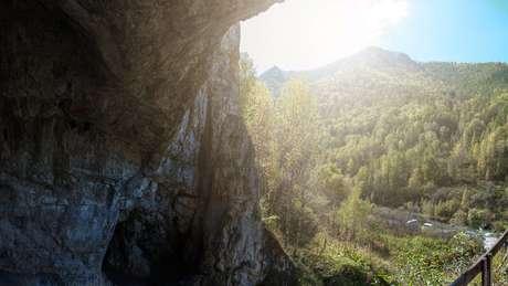 Caverna de Denisova, no sul da Sibéria