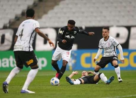 Timão sofreu sua quarta derrota para clubes da Série A nesta temporada(Foto: Ari Ferreira/Red Bull Bragantino)