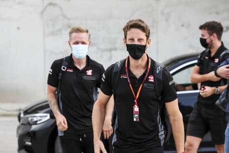 Kevin Magnussen e Romain Grosjean foram companheiros na Haas durante quatro temporada