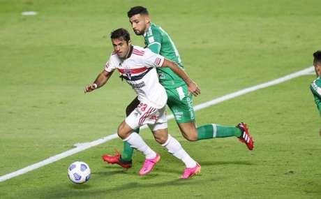 Eder foi o autor do gol do São Paulo contra a Chapecoense (Foto: Paulo Pinto / saopaulofc.net)