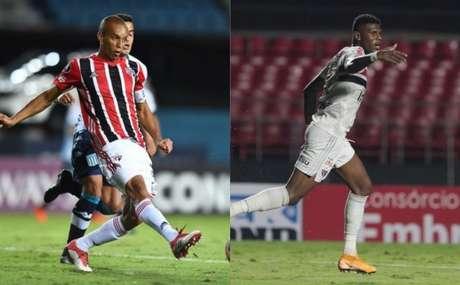 Miranda e Arboleda são desfalques na defesa (Fotos: Staff Images / CONMEBOL eRubens Chiri / saopaulofc.net)