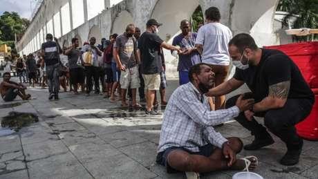 A fome, que crescia no Brasil na última década, acabou se agravando na pandemia