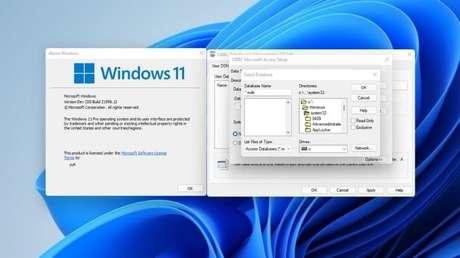 Caixas de diálogo no Windows 11