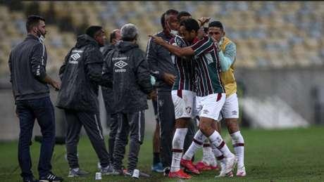 Fluminense conseguiu vitória importante para figurar entre os 5 primeiros (Foto: LUCAS MERÇON / FLUMINENSE F.C.)