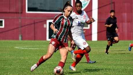 Letícia ainda não tinha feito gols no Brasileirão A2 (MAILSON SANTANA/FLUMINENSE FC)