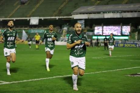 Régis fez o gol da vitória do Bugre no Dérbi de Campinas (FOTO: Celso Congilio/Guarani FC)