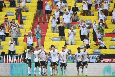 Alemanha faz grande partida e vence Portugal na Eurocopa (MATTHIAS SCHRADER / POOL / AFP)
