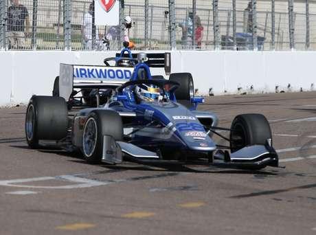 Kyle Kirkwood venceu mais uma vez na Indy Lights