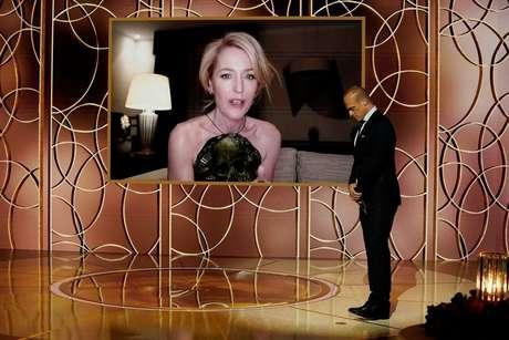 Entrega do Globo de Ouro em março de 2021