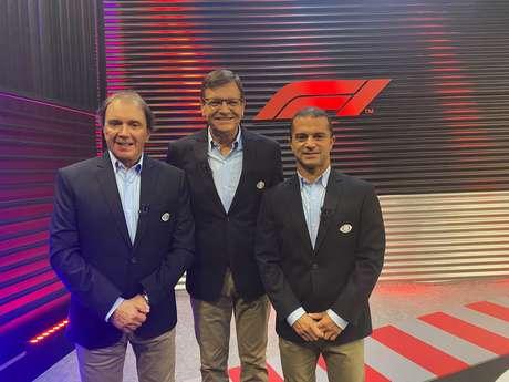 Reginaldo Leme passou mal neste sábado e não esteve com Sérgio Maurício e Max Wilson na transmissão da F1 neste sábado