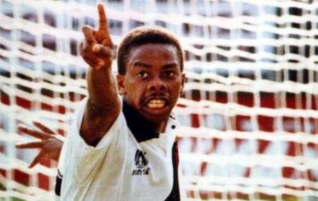 Dener com a camisa do Vasco em 1994 (Reprodução)