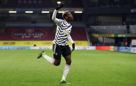 Manchester United quer garantir Pogba por mais tempo (Foto: CLIVE BRUNSKILL / POOL / AFP)