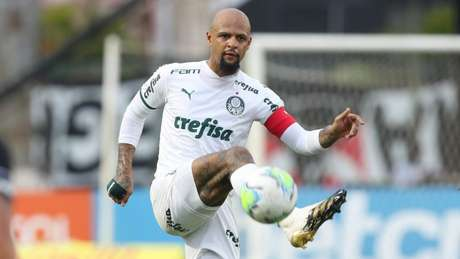 Felipe Melo pode voltar a atuar como zagueiro no Palmeiras (Foto: Cesar Greco/Palmeiras)