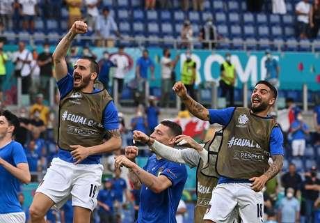 Já classificada, a seleção italiana foi ao jogo com um time misto, com vários jogadores considerados reservas