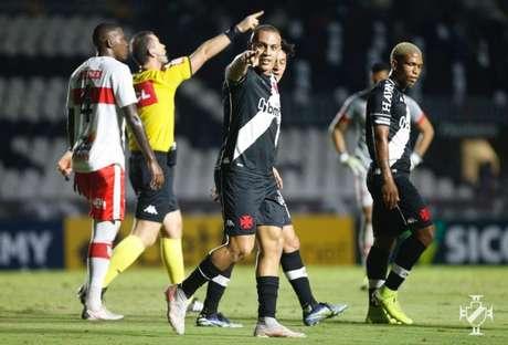 Léo Jabá é líder de assistências do Vasco na temporada com 5 passes para gol (Foto: Rafael Ribeiro/Vasco)
