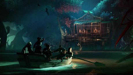 Cenários de A Pirate's Life