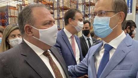 Empresário e ex-ministro Eduardo Pazuello se conheceram em 2018 em Roraima