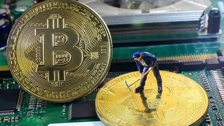Mineração de bitcoin