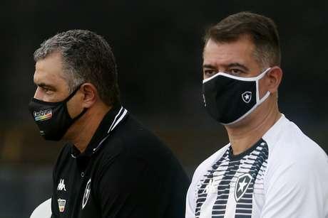 Marcelo Chamusca e Caio Autuori (Foto: Vítor Silva/Botafogo)