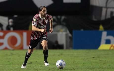 Benítez voltou aos gramados contra o Santos (Foto: Rubens Chiri / saopaulofc.net)